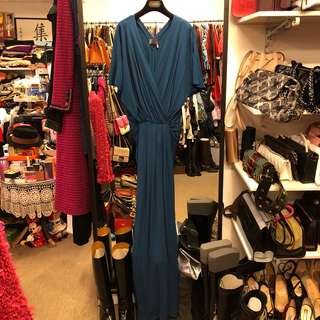 長身絲質晚裝裙 Lanvin exevung long dress gown