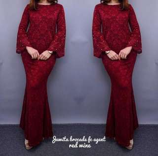 Juwita Brocade Lace (PO Close 20/5)
