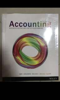 Accounting textbook RMIT