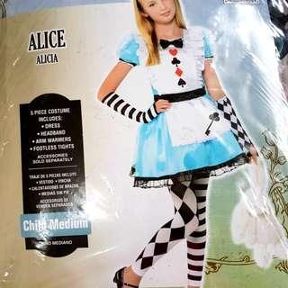 Modern alice in wonderland costume