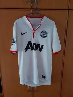 Manchester United 2012/13 Away Kit Size S With Van Persie 20 Printing and EPL Badges