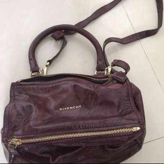 Givenchy pandora紫色