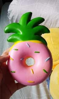 Pineapple donut squishy