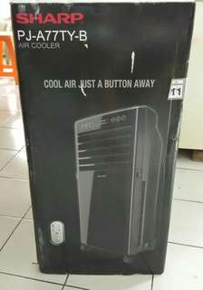Sharp A777TY-b air cooler free 4 ice box murah dan lengkap