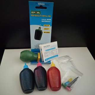 SEPOMS Pro-quality Refill Ink (CMY) for HP Printers. Brand new, never used