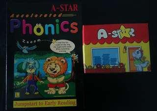 Children's A-star Phonics e-learning interactive CD roms