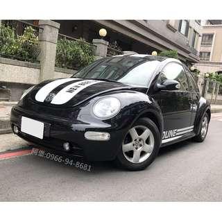 💥2003 VW BEETLE 1.6L 💥實車在店 實價刊登!!!