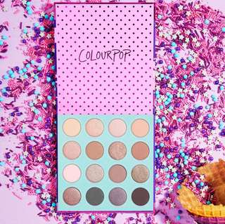 [⚡️COLOURPOP⚡️] FAME PRESSED POWDER SHADOW PALETTE PREORDER PO SPREE