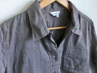 Women's Gray Long Sleeves