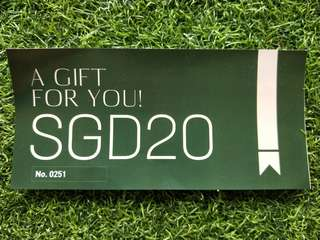SGD 20 ISO home care voucher