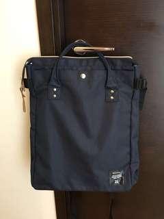 anello 2way Tote/背包 藍色,日本購入,只用過1次。