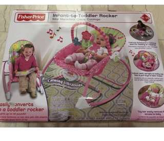 Fisher price bouncer (New)