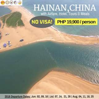 4D3N Hainan, China (All-in Tour Package)