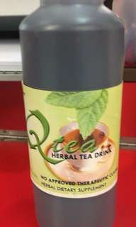 QTea Herbal Tea Drink