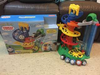 Thomas & Friends Rail Rollers Spiral Station