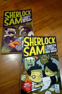 Sherlock Sam #2 n #3