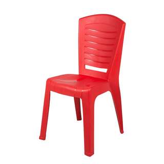 High Quality Stackable Dining Plastic Chair 6 Pcs