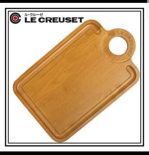 🚚 Le creuset LC 楓木 砧板 野餐 實木材質