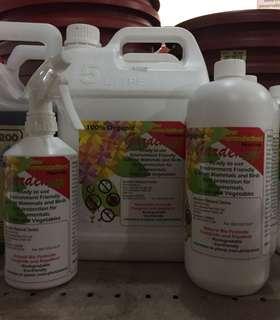 Garden safe pesticide natural bio pesticide fungicide repellent organic biodegradable eco friendly staghorn ferns carnivorous pitcher plants