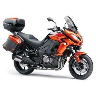 Kawasaki Versys 1000 (Comes with side and top box)