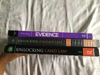 UNLOCKING: LAND, EVIDENCE, COMPANY LAW