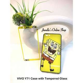 VIVO Y71 Case with Tempered Glass