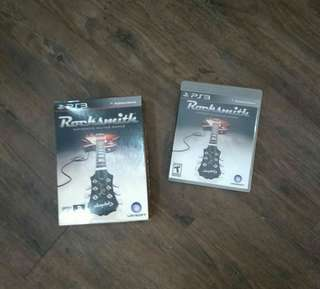 PS3 Rocksmith (Game + Cable)