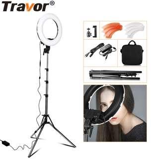 Travor BiColor Portable Handheld Led Light 12'' + Lighting Stand