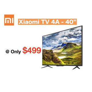 "TV Xiaomi TV Smart Android TV 4A - 40"" 32 /43/49/50/55/65 inches"
