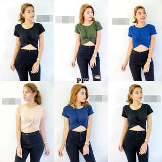 Trendy Cropped Top