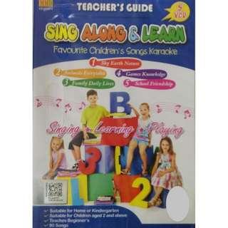 Sing Along Learn Favourite Children's Songs Karaoke 5VCD