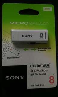 8GB USB flashdrive