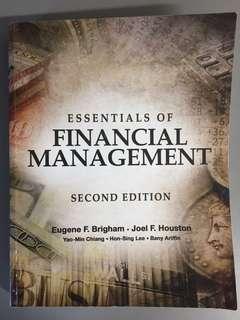 AB1201 Financial Management essentials of financial management