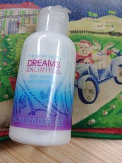 The Body Shop Dreams Unlimited Body Lotion
