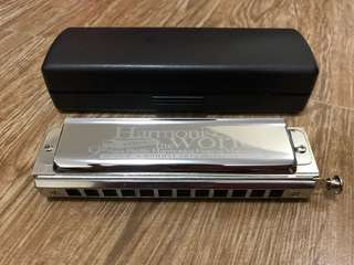 Qi Mei Chromatic Harmonica 12 Hole