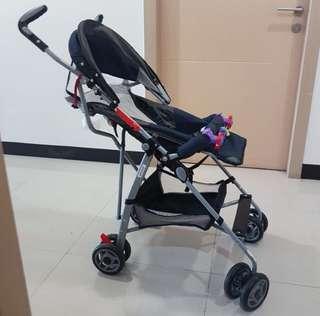 Reclinable stroller