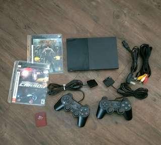 PS2 Slim + Games !!!