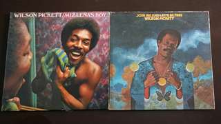 WILSON PICKETT.  miz lena's boy / join me an let's be free. ( buy 1 get 1 free / moving out clearance )  vinyl record