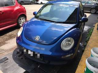 Vw beetles 1.6A 2008