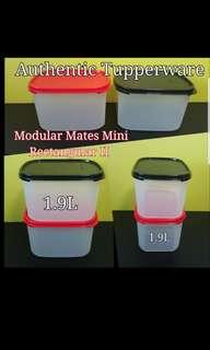 Authentic Tupperware  Modular Mates Mini Rectangular II  《Retail Price S$17.90/Piece》 modular