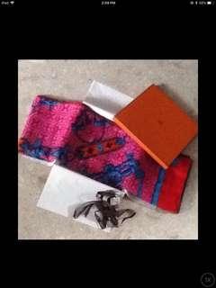 Authentic Hermes shawl - 140cm