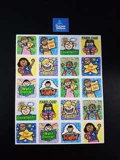 [INSTOCK] BN Kids Drawn Reward/Merit Stickers (Carson Dellosa)