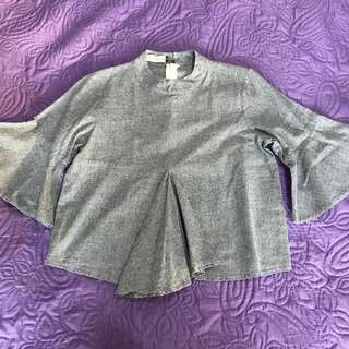 Flying Dutchman Cropped Blouse