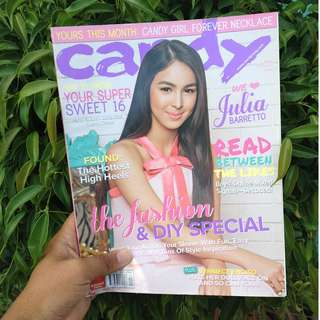 CANDY MAG OCTOBER 2013: JULIA BARRETTO