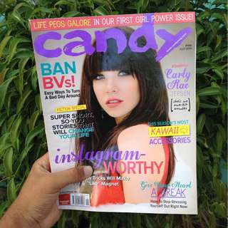 CANDY MAG JULY 2013: CARLY RAE JEPSEN
