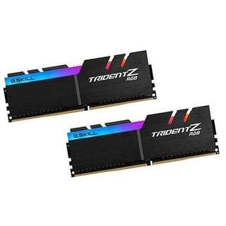 G Skill Trident Z RGB 16GB PC4-25600 / DDR4 3200 Mhz 2x8GB G.Skill G-Skill
