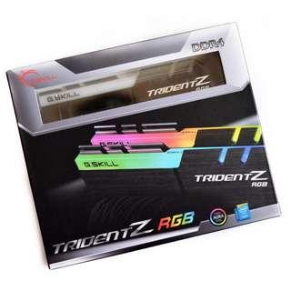 G Skill Trident Z RGB 16GB PC4-24000 / DDR4 3000 Mhz 2x8GB G.Skill G-Skill