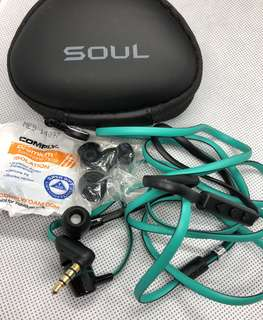 Soul by Ludacris In Ear Earphones - Preloved and 100% Authentic