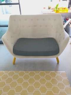 Poeten replica sofa 2 seater