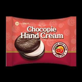 🆕️ The Saem Chocopie Handcream (Grapefruit)